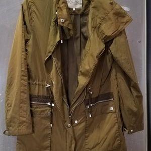 RACHEL ROY ANORAK New Jacket Olive Size M
